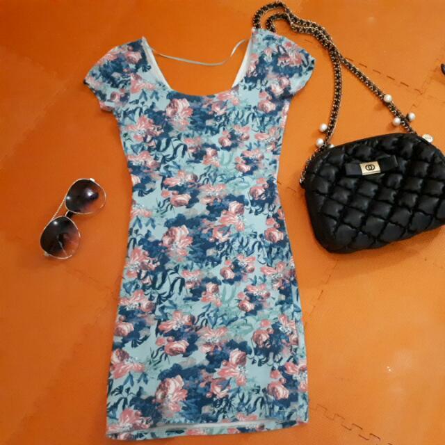 Mini Dress Pull N Bear