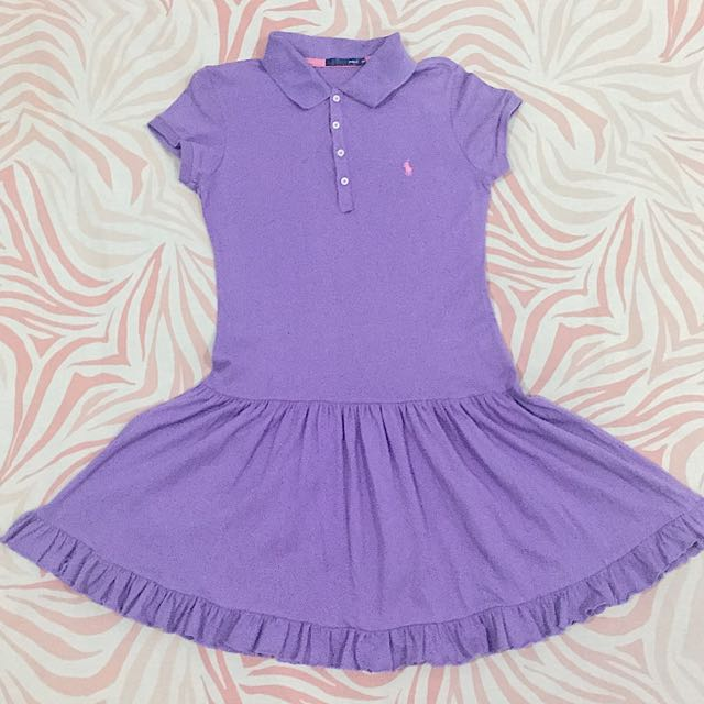 Mini Dress Ungu Polo
