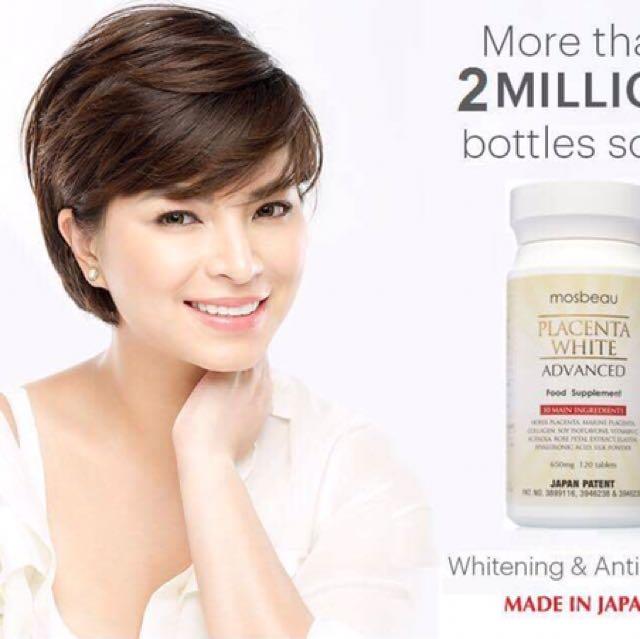 Mosbeau placenta White Advanced food Supplement
