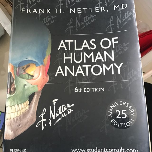 Netter Atlas Of Human Anatomy 6th Edition Textbooks On Carousell