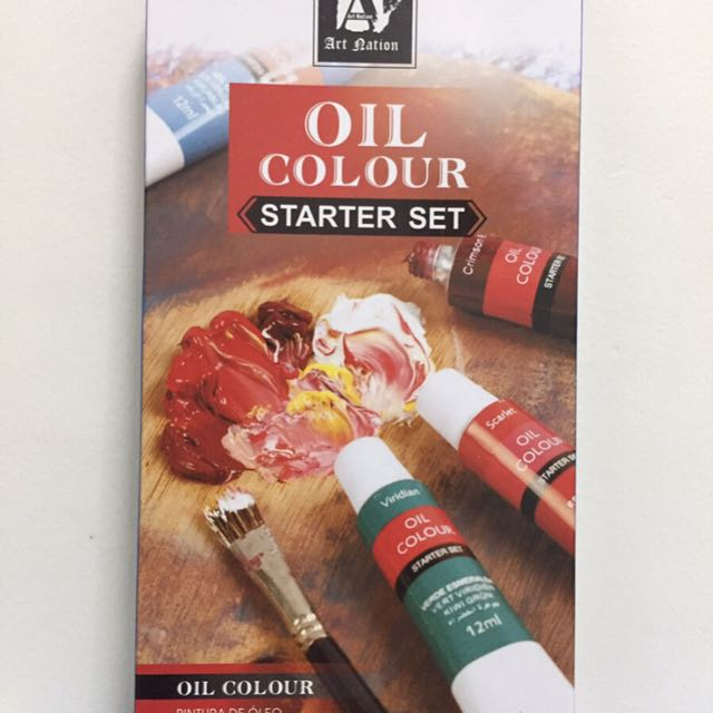 Oil Paint Color starter set