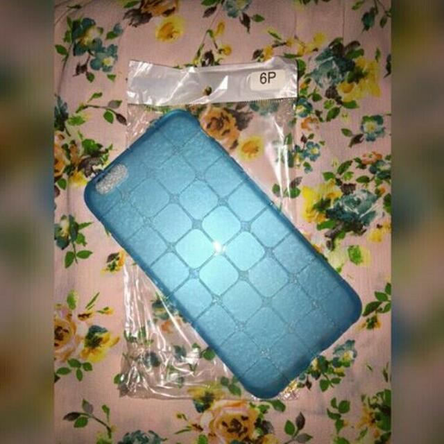 ONHAND: Blue Square Pattern Case For IPHONE 6+/6s+
