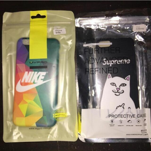 ONHAND: 🔹Supreme Badcat Black for IPHONE 5/5s/se. 🔹Nike Case for IPHONE 6/6s.