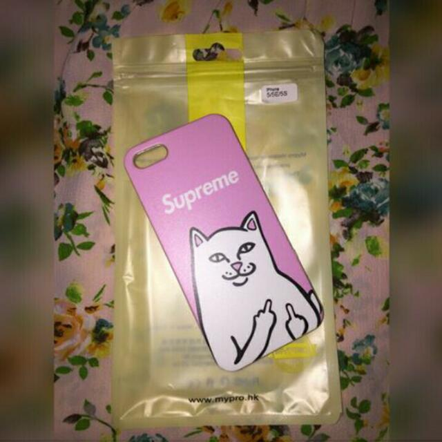 ONHAND: Supreme Badcat Pink For IPHONE 5/5s/se