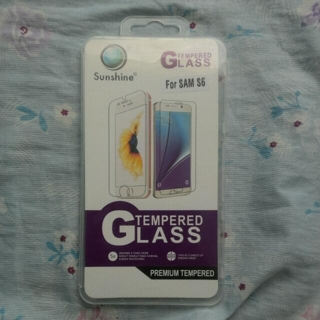 ONHAND: Tempered Glass for SAMSUNG S6