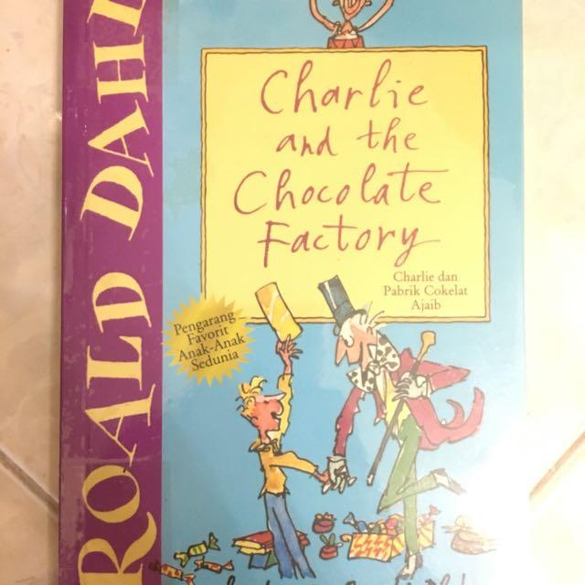 Paket Novel Roald Dahl