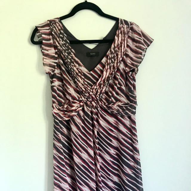 Patterned Esprit Dress