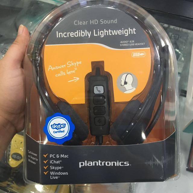 Plantronics headset with mic