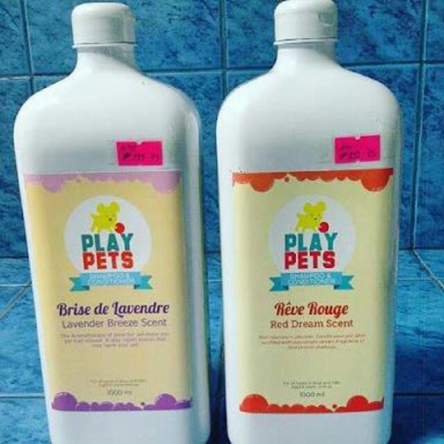 Play Pets Shampoo 1 Liter