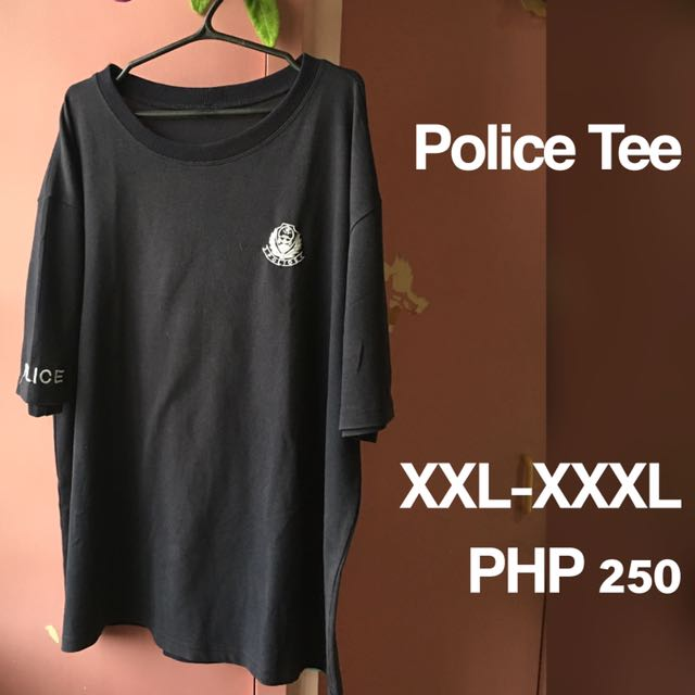 Plus Size (Loose) Police Tee