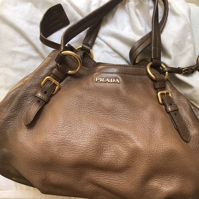 Prada (NEGOTIABLE) AUTHENTIC Deer Skin
