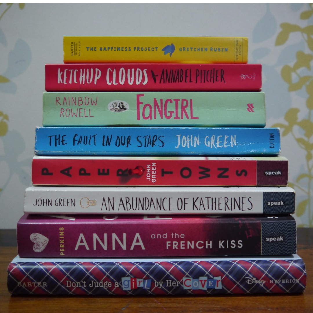 Preloved Books (Please Check The Description For Prices And Availability!)