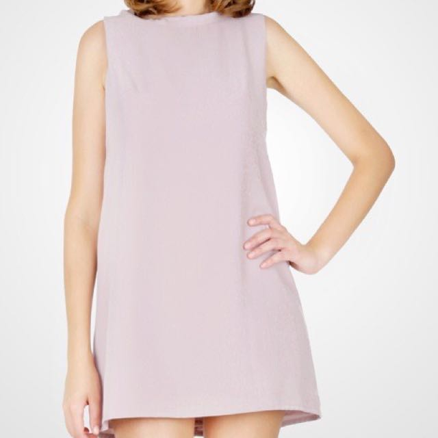 Preloved Dress Tanktop Pink Burgundy