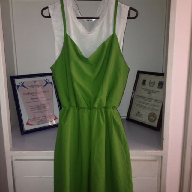 Pre-loved Green Dress