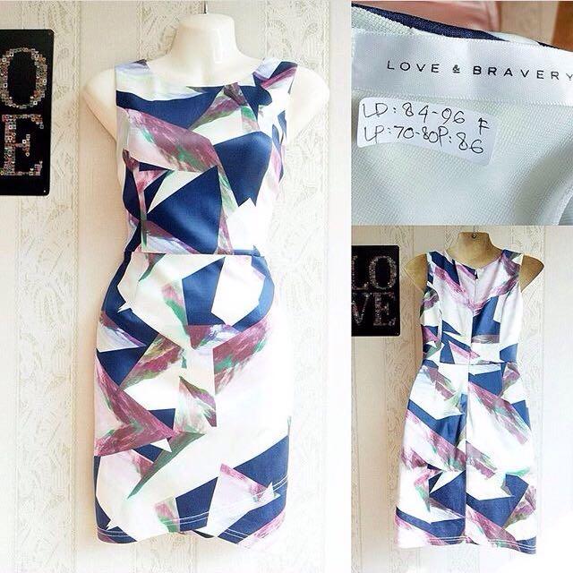 Premium Dress // Dress Import // Dress Love And Bravery
