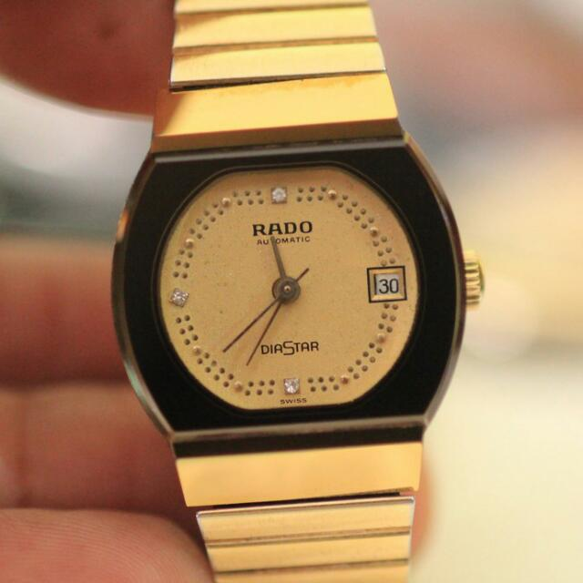 RADO DIASTAR AUTOMATIC Gold Plated