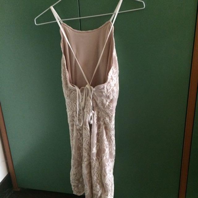 rare london lace dress