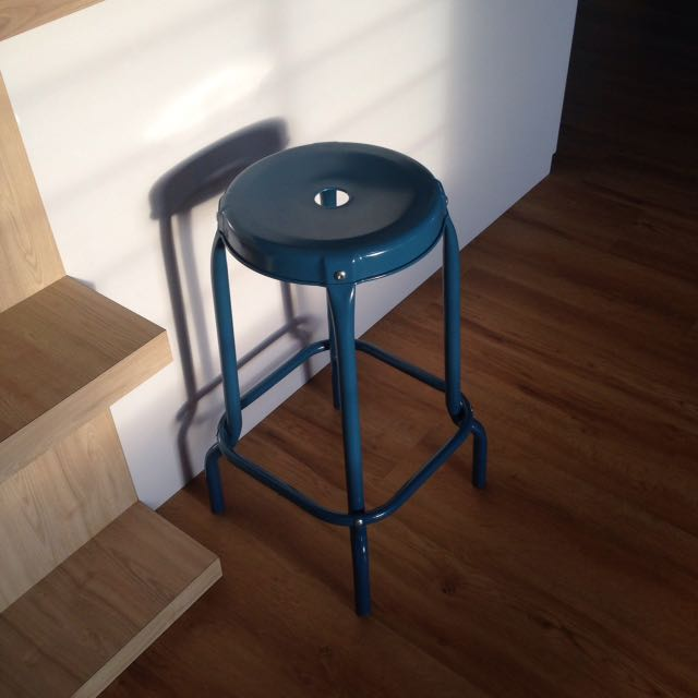 official photos 79305 f1edf RASKOG Ikea Bar Stool Blue, Furniture, Tables & Chairs on ...