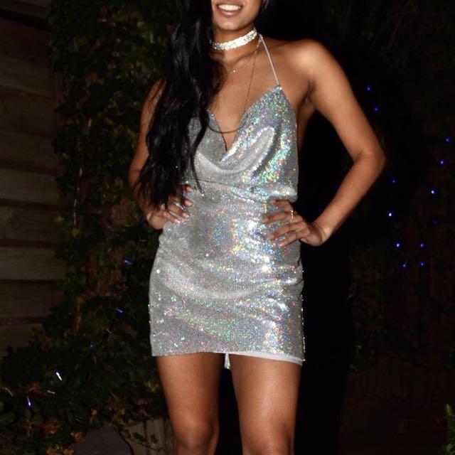 Al Silver Kendall Jenner Birthday Dress Women S Fashion Clothes On Carou