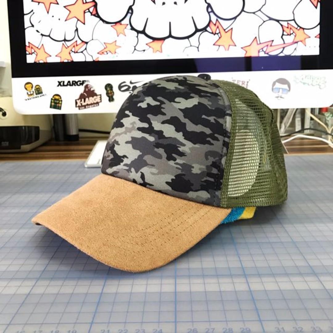 RIPCURL 迷彩網帽