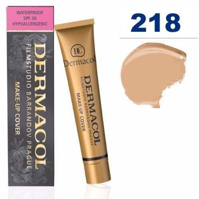RS Dermacol Makeup Cover 218