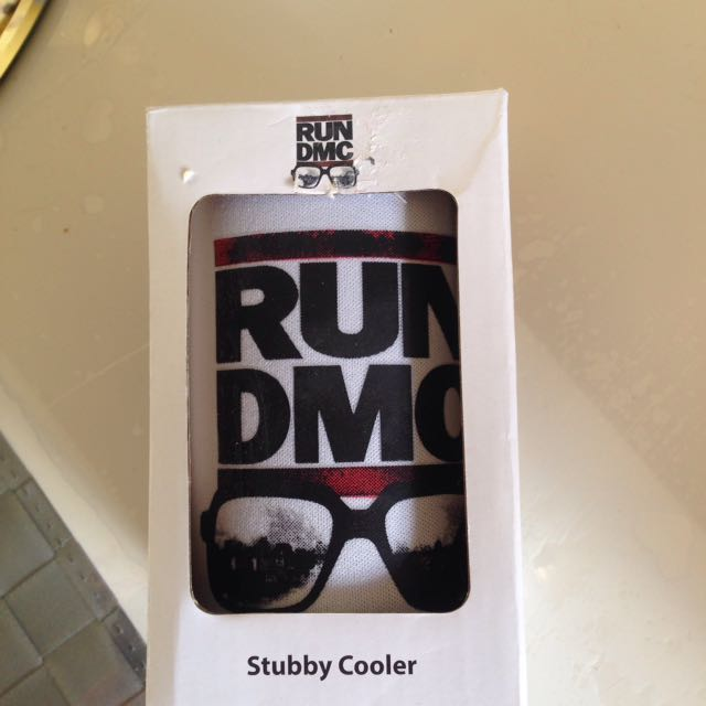 Run DMC stubby Cooler, Kitchen & Appliances on Carousell