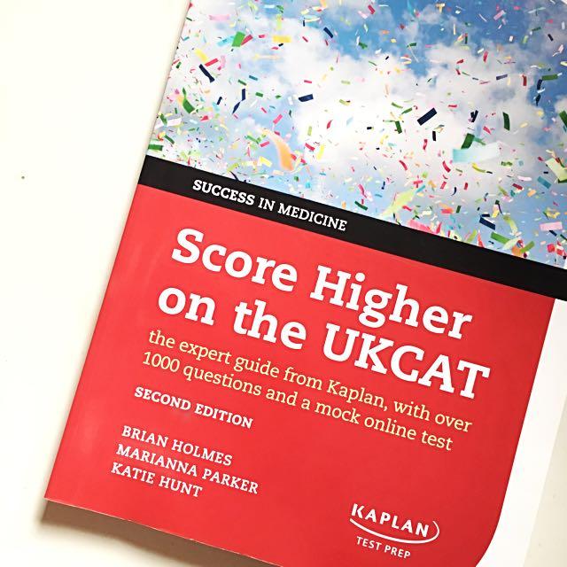 Score Higher On The UKCAT Second Edition Kaplan