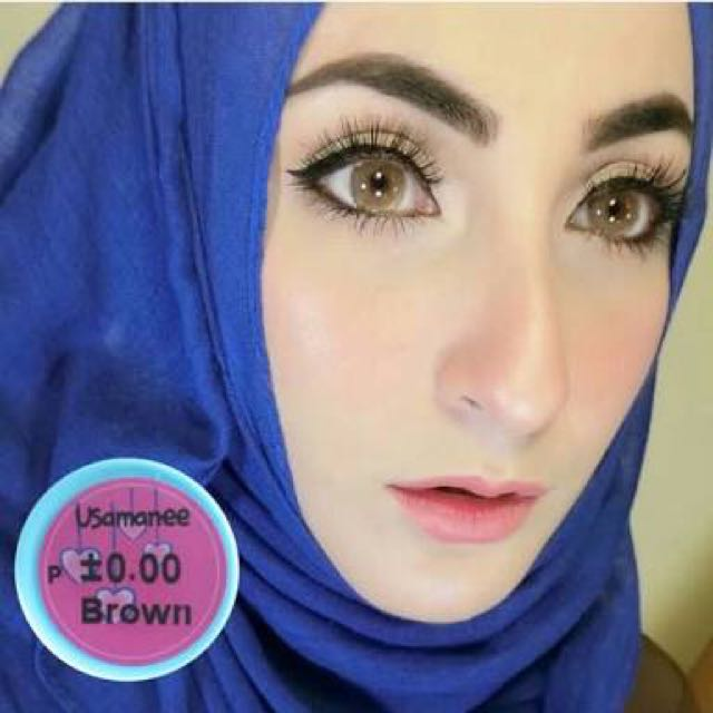 Softlens Usamanee Brown