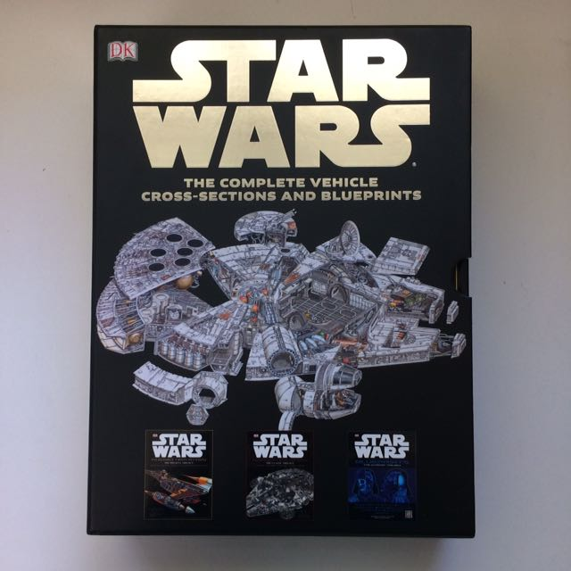 Star Wars Collectors Blueprints Set