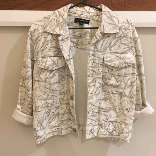Stolen Girlfriends Club White Denim Jacket