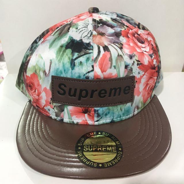 Supreme Floral Cap