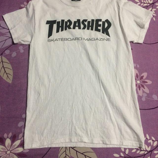 Thrasher白T  正版  s號 (待匯款)