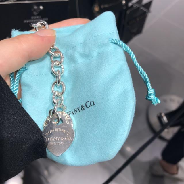 """Tiffany and Co. - """"RTT"""" Heart Toggle Bracelet"""