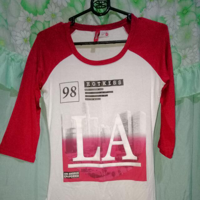 T-shirt 3/4 sleeves HotKiss brand
