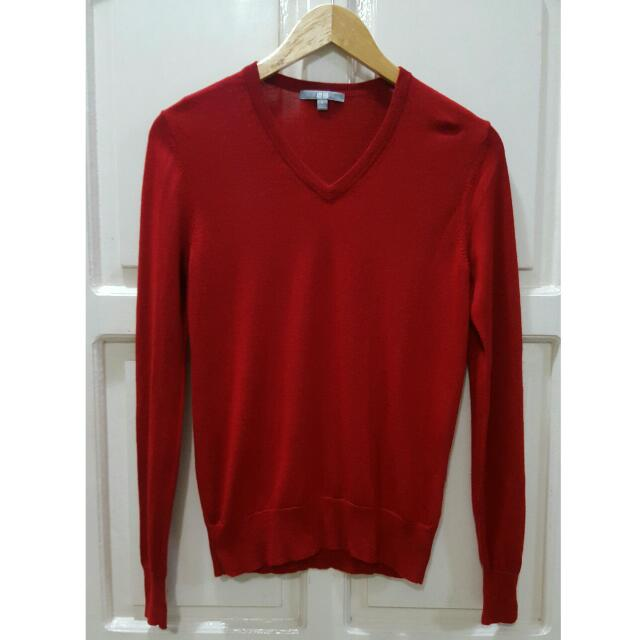 Uniqlo Knitted Long-sleeved Top