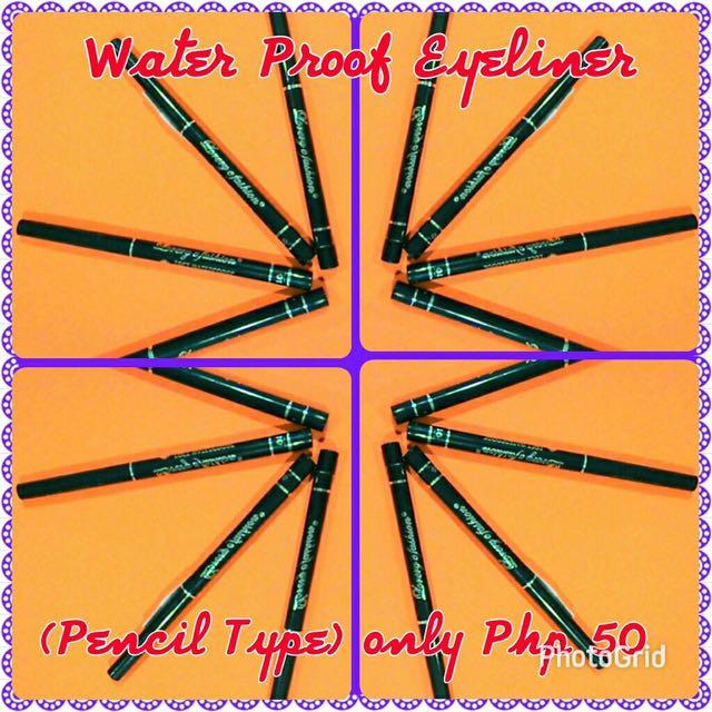 Water Proof Eyeliner Pencil