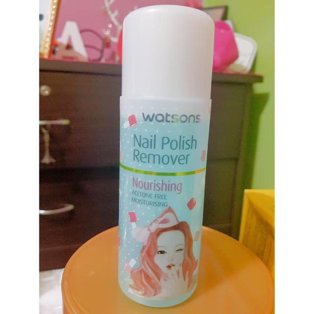 Watsons Nail Polish Remover Health Beauty Hand Foot Care On Carousell