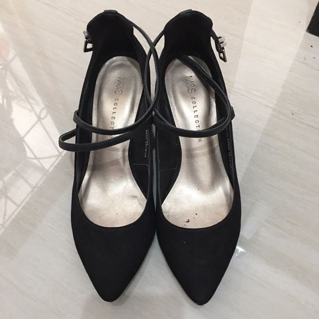 Wedges Hitam M&S Collection
