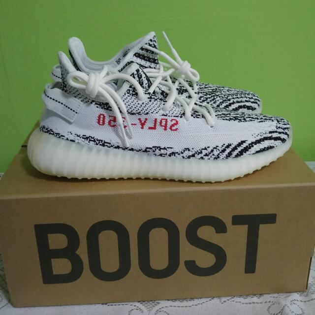 adidas yeezy boost 350 v2 zebra cp9654 shoes 8.5