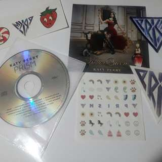 Katy Perry Prism CD Album Stickers Patch