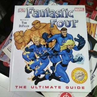 Marvel Fantastic Four Guide DK