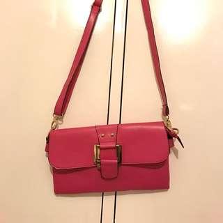 Pink Satchel Bag