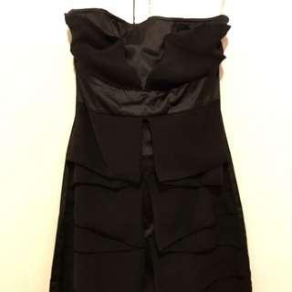 Black Small 8 Dress