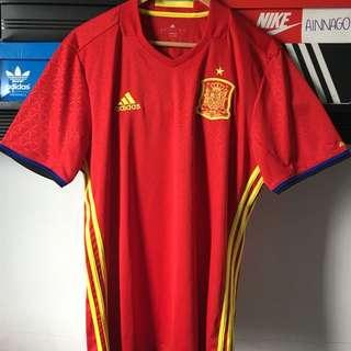 adidas Spain Away Jersey 2016