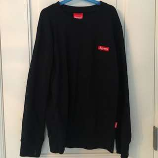 SUPREME Navy Blue Sweater
