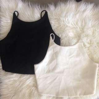 2 X Zara Crop Tops