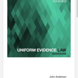 Uniform Evidence Law Guidebook - RRP $39.99