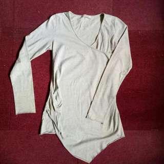 Mint Green Long sleeved Blouse