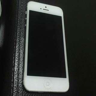 Iphone 5 64gb (Silver)