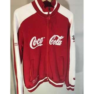 Coca Cola fleece zip up